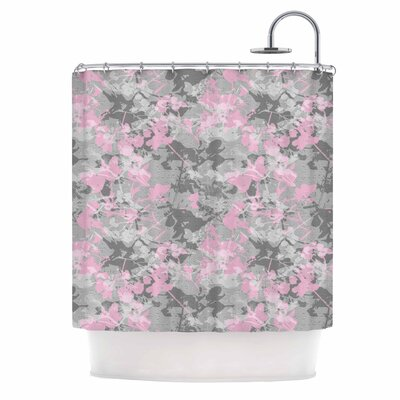 Carolyn Greifeld Blissed Digital Shower Curtain
