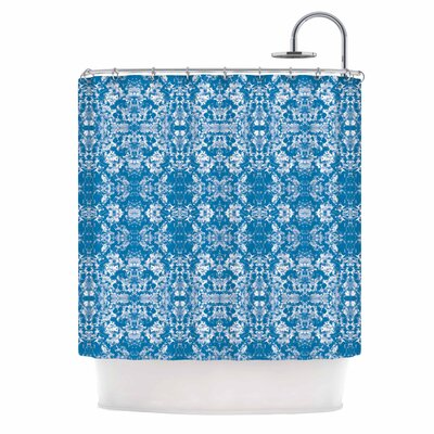 Carolyn Greifeld Modern Damask Shower Curtain