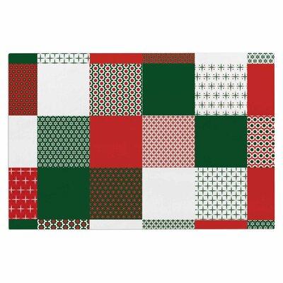 Carolyn Greifeld Holiday Patchwork Doormat