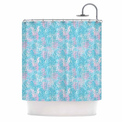 Carolyn Greifeld Painterly Pastels Shower Curtain