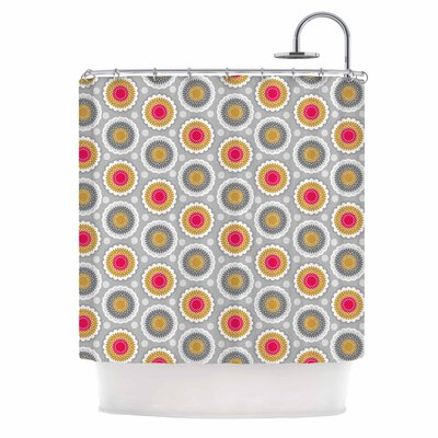 Carolyn Greifeld Dipsy Doily Shower Curtain