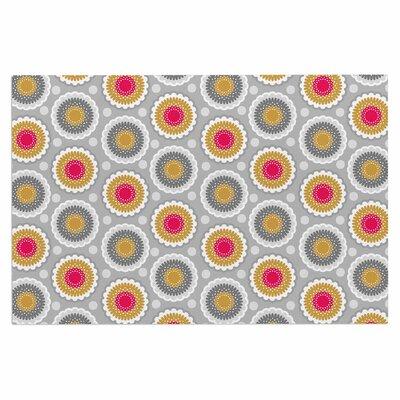 Carolyn Greifeld Dipsy Doily Modern Doormat