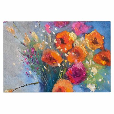 Carol Schiff Roadside Bouquet Doormat