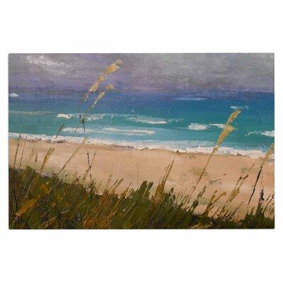 Carol Schiff Florida Beach Scene Coastal Doormat