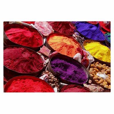 Carina Povarchik Indian Powders Photography Doormat