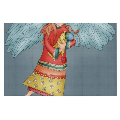Carina Povarchik Guardian Angel Doormat