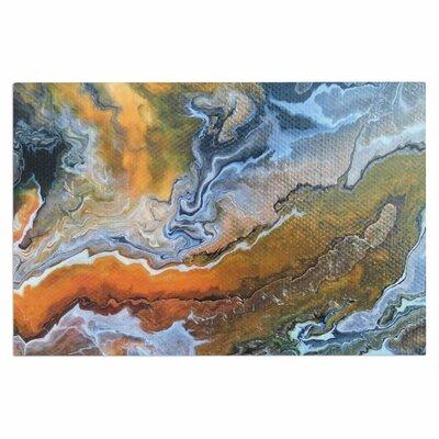 Carol Schiff Geologic Ve ins Doormat
