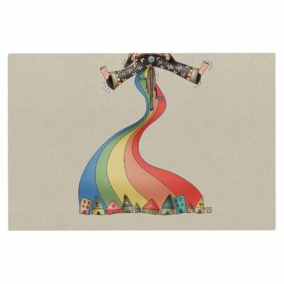 Carina Povarchik Weeeee Fantasy Illustration Doormat