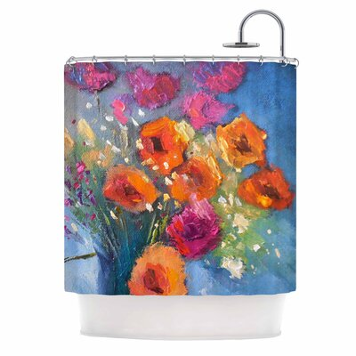 Carol Schiff Roadside Bouquet Shower Curtain