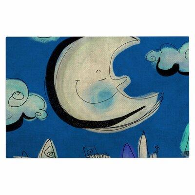 Carina Povarchik Moon Doormat