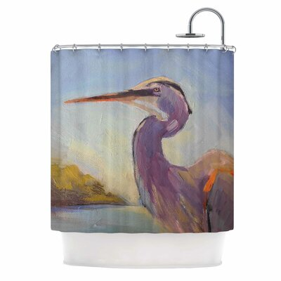 Carol Schiff Tropical Sentry Animal Shower Curtain