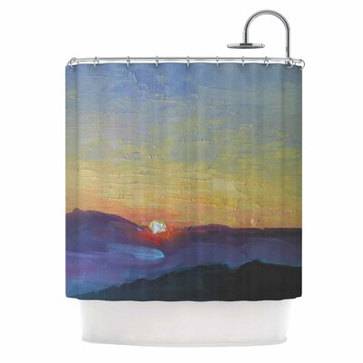 Carol Schiff Mountain Sunset Nature Shower Curtain