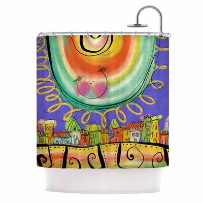 Carina Povarchik Sun Shower Curtain