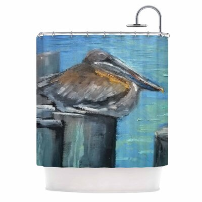 Carol Schiff Hunkered Down Shower Curtain