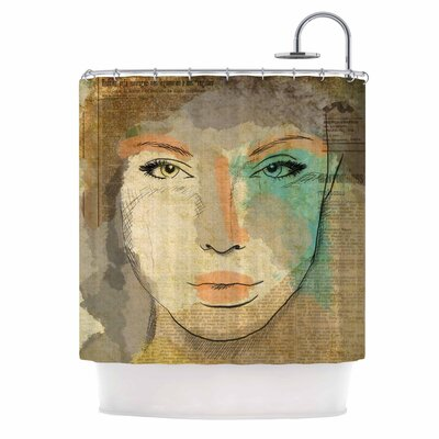 Carina Povarchik Agata People Shower Curtain