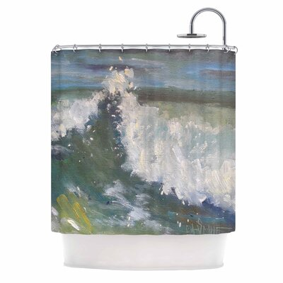 Carol Schiff the Crest Shower Curtain