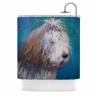 Carol Schiff Shaggy Dog Story Shower Curtain