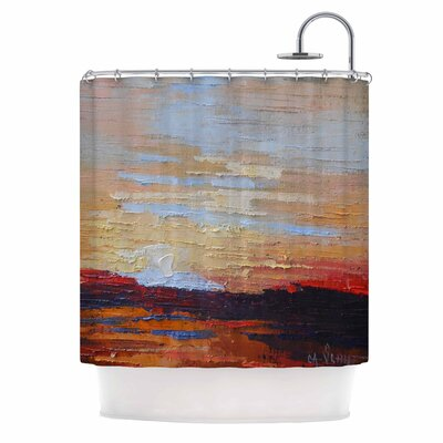 Carol Schiff on the Rise Shower Curtain
