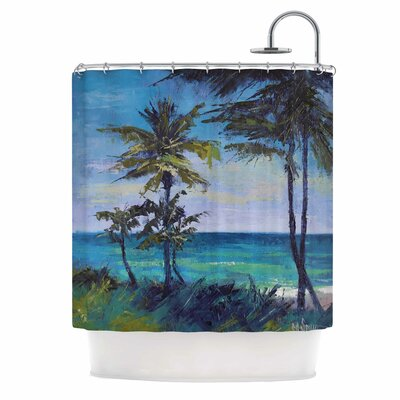 Carol Schiff Room with a View Shower Curtain