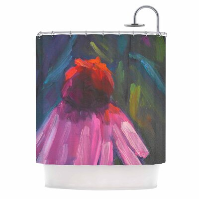 Carol Schiff Shady Coneflower Shower Curtain