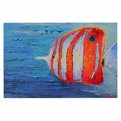 Carol Schiff Reef Fish 1 Doormat