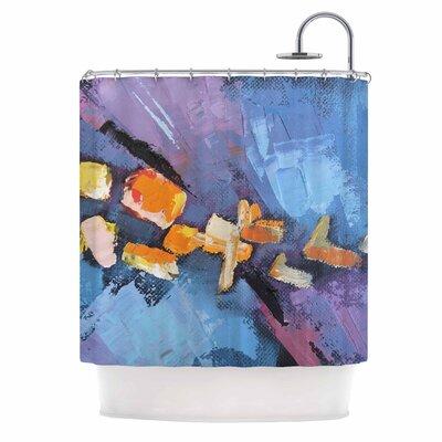 Carol Schiff Mardi Gras Shower Curtain
