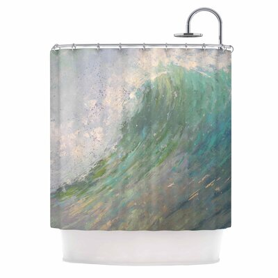 Carol Schiff Wall of Water Shower Curtain
