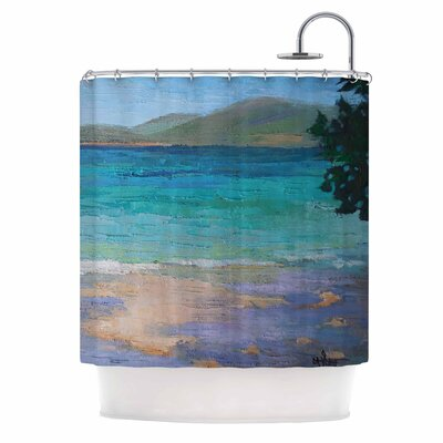 Carol Schiff Caribbean Dream Shower Curtain