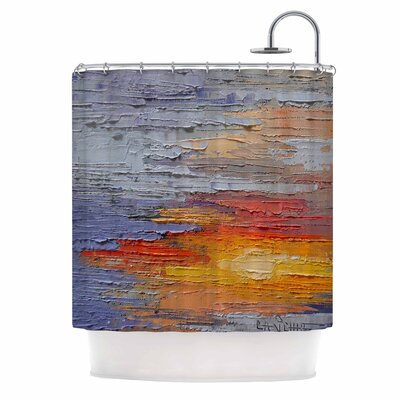 Carol Schiff Dreamy Sky Shower Curtain