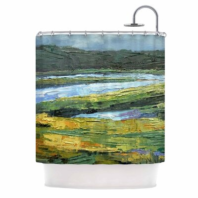 Carol Schiff Southern Marsh Shower Curtain