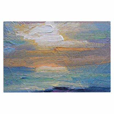 Carol Schiff Ocean Sunset Coastal Doormat