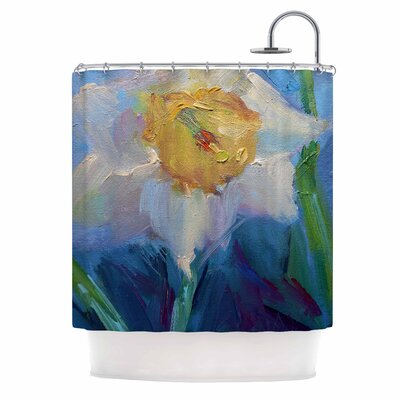 Carol Schiff Daffodil Day Shower Curtain