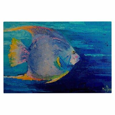 Carol Schiff Tropical Fish II Doormat
