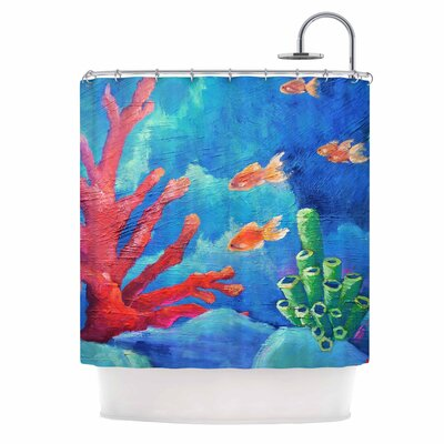 Carol Schiff Key Largo Shower Curtain