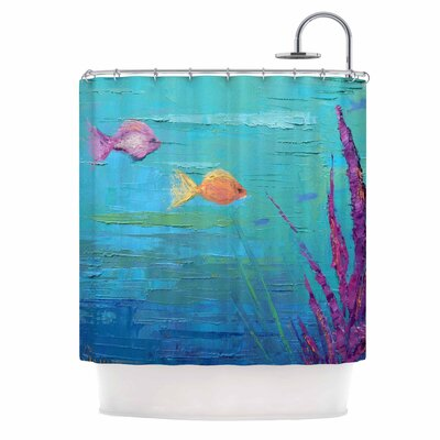 Carol Schiff Key Largo Coral Reef Shower Curtain