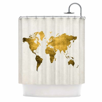 Chelsea Victoria Let Love Light the Way Shower Curtain