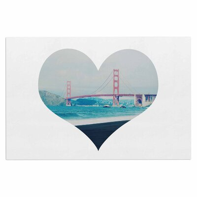 Chelsea Victoria San Francisco Love Coastal Doormat
