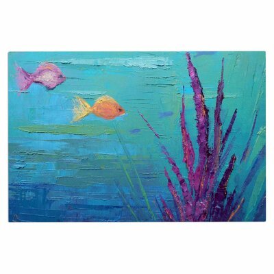 Carol Schiff Key Largo Reef Doormat