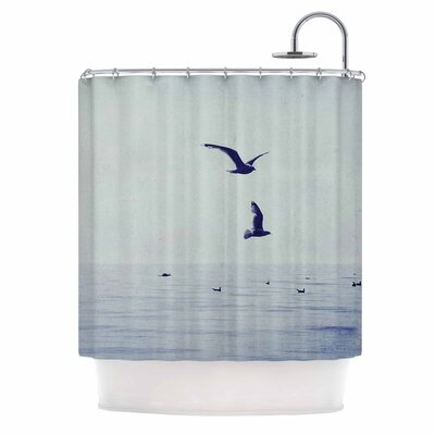 Two If By Sea Photography Shower Curtain