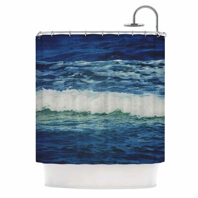 Chelsea Victoria Sink Back into Coastal Shower Curtain