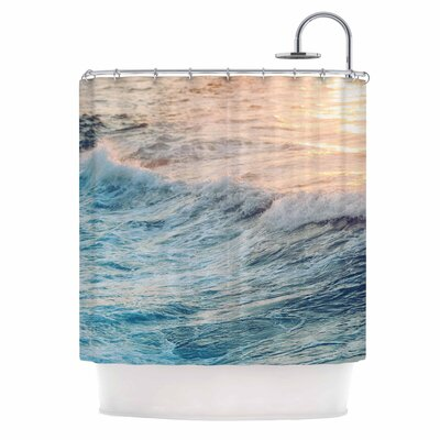 Chelsea Victoria Sherbert Ocean Shower Curtain