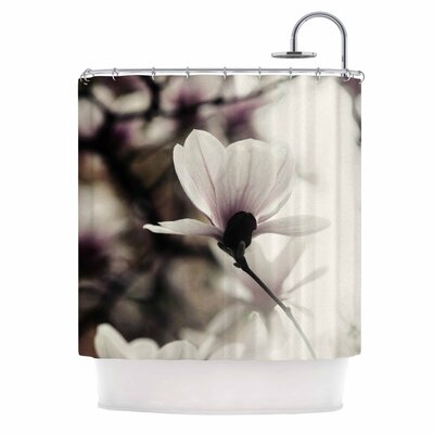 Vanilla Magnolia Shower Curtain