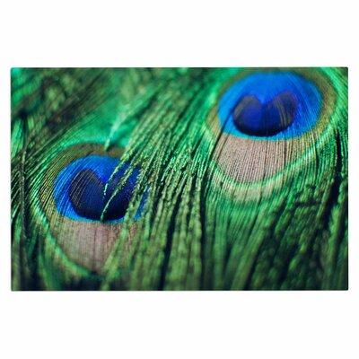 Chelsea Victoria Peacock Feathers Doormat