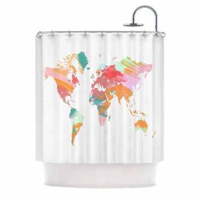 Chelsea Victoria Wild World Shower Curtain