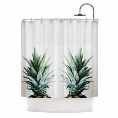 Chelsea Victoria Two Pineapples Shower Curtain