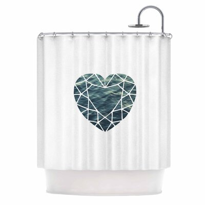 Ocean Love Photography Shower Curtain