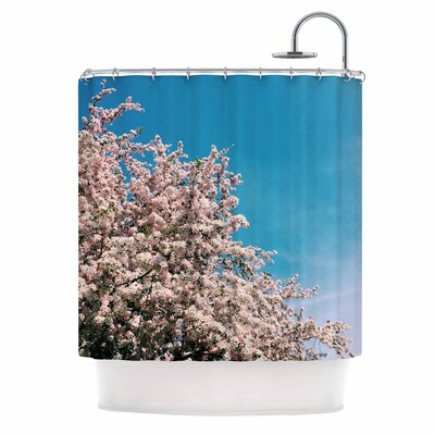 Chelsea Victoria Blossom Tree Shower Curtain