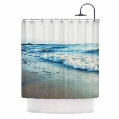 Beyond the Sea Coastal Shower Curtain