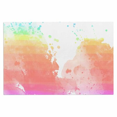 Chelsea Victoria Color Splatter Watercolor Doormat