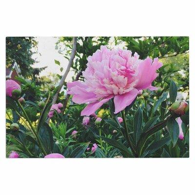 Chelsea Victoria Peonies Floral Doormat